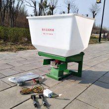 厂家直销拖拉机前置施肥器 小型电动撒肥机 悬挂式施肥机