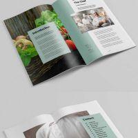 杂志期刊设计印刷企业内刊铜板纸画册设计印刷