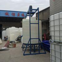 10吨环保耐腐蚀污水处理PE储水箱 水塔 储罐 沉淀池 加厚耐酸碱