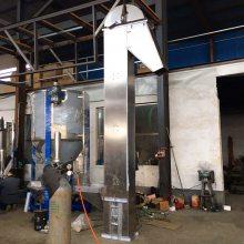 石膏粉 石灰粉专用斗式提升机 都用机械专业生产斗式上料机