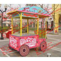 天津商业街售货亭,金华游乐园手推车,商业街移动购物亭