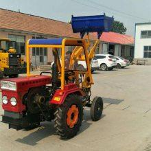 直供志成ZL06型小型轮式装载机 农用小四轮铲土机 工程用单缸小铲车