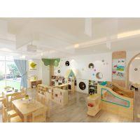 智拓星(Best star)品牌幼儿园家具丨流金岁月系列橡木课室家具区角组合柜