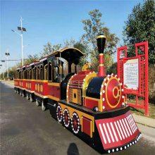 景區廣場仿古電動游樂場設備兒童商場托馬斯無軌觀光電瓶小火車
