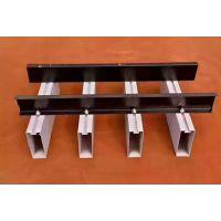 厂家订做 各色木纹U型铝方通天花价格从优 铝方通吊顶