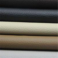 厂家直销荔枝纹PVC皮革 环保耐磨汽车坐垫专用革 箱包革皮料批发
