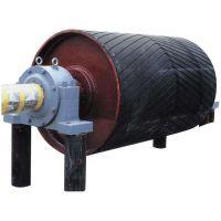 沧州诺信公司生产630x1150人字形包胶传动滚筒