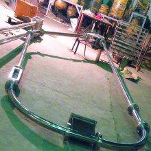 [都用]粉煤灰管链输送机 304不锈钢管链提升机 密封式干粉输送机