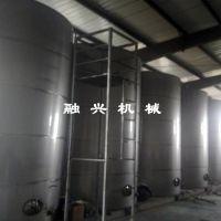 制作不锈钢储酒罐 长期不锈钢储酒罐 不锈钢储存罐储水罐储酒罐 3吨基酒罐