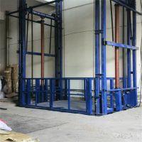 抚州工厂专用液压升降货梯 链条导轨式升降机 室外油缸电动升降台