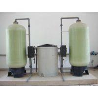 豪欣制作供应全自动软水设备 软水罐+全自动阀+滤料树脂+盐箱