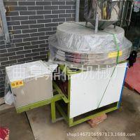 曲阜直销面粉石磨 大型半自动石磨磨粉机 石磨成套设备