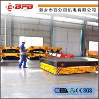 江苏厂家供应无轨模具周转车 车间内电运输车BWP无轨胶轮电动平板车