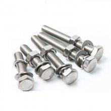 金聚进 优质不锈钢304外六角螺栓M6M8M10 M12规格齐全