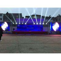 南京庆典音响舞台搭建,明道灯光声扬音箱租赁,投影机出租,光祥led电子屏出租