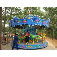 儿童玩具广场游乐设备转转车旋转木马