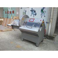 广东大型切肉片机,切牛排猪扒机JY-25K,出料带输送带,进口刀片电机电气