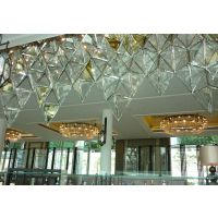 豪华K9新款大堂LED水晶灯现代大型酒店工程灯圆形中式水晶吊灯