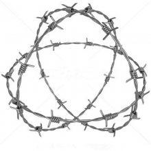南京镀锌刺绳 哈尔滨镀锌刺绳 围栏铁丝网