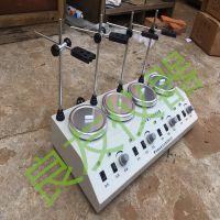 HJ-4多头加热磁力搅拌器 四联磁力搅拌器 异步多头磁力搅拌器