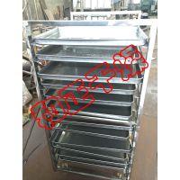卷边式化工托盘 干燥机专用装原料盘 热风循环烘箱标配烘盘