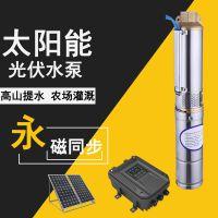 家用太阳能上水泵 微型高扬程二次加压潜水泵 24V节能水泵