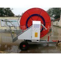 志成厂家直销移动式喷灌机高效率喷洒机卷盘式喷灌机械