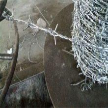 不锈钢芒刺线 刺绳立柱 刀片刺绳防护网安装
