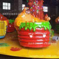 熊出没转杯 公园人气旺的亲子游乐设备熊转杯(4人/杯)郑州宏德游乐供应