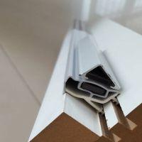 木门45度静音密封胶条,PVC软硬复合防撞条
