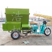 混合电动青贮撒料车 自动喂料电动撒料车 亚博娱乐手机