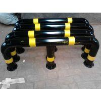 哈尔滨协瑞科技M型号防撞器 钢管围栏U型挡车杆加厚固定铁立柱