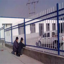 工厂围墙护栏网 施工隔离栅 方管组装围栏厂家