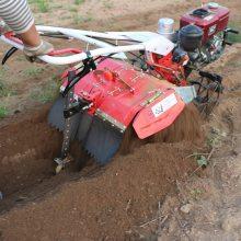 志成蔬菜地除草松土机 自走式后旋微耕机 柴油水冷农用微耕机