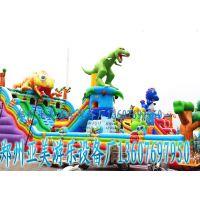 儿童充气城堡郑州现货低价热卖中 儿童大滑梯价格 亚美生产儿童充气蹦床的厂家