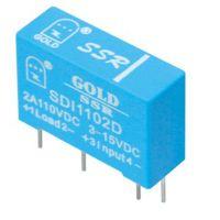 【单列直插式直流固态继电器 】SDI1102D 江苏固特厂家自行研发生产