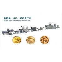 青海食品机械设备全自动油炸型奇多粟米条休闲食品生产线