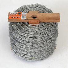 刺绳加工 1吨钢刺绳多少米 铁丝网护栏