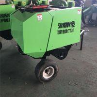 大型拖拉机牵引悬挂行走式小麦牧草稻草玉米秸秆全自动捡拾打捆机