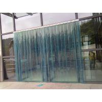 天津折叠推拉软门帘 折叠型软门帘 PVC折叠帘 塑料折叠帘