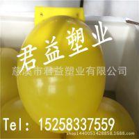 海南直径500mm工程项目浮球 单耳养殖塑料航标浮球加工