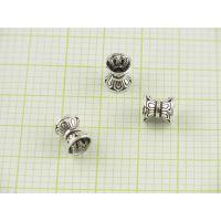 S925银橄榄珠配件批发 石英手镯首饰配件—菩提首饰生产厂家