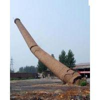 石首烟囱整体拆除期待您的光临
