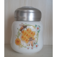 生产陶瓷粉饼盒化妆品罐子厂家加工