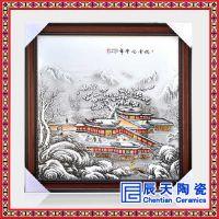 中国风纯手绘玄关客厅装饰画欧式餐厅走廊挂画田园风景竖版墙画