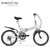 DAHON大行20寸折叠山地自行车高碳钢双减震成人折叠山地车TST061