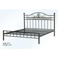 厂家直销双人 欧式铁床 ,公寓铁床, 铁艺床定制
