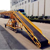 粮食装车输送机 V型沙石料用皮带输送机