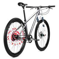 钛合金自行车,定制合金车架,轻便耐用