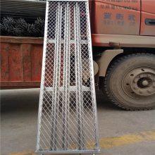 红色钢板网 菱型孔钢板网 建筑钢笆片